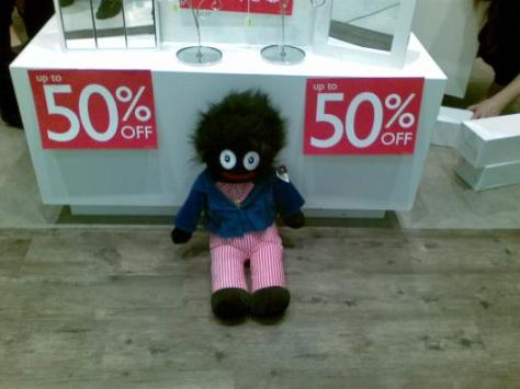 Presents, Southland - Storefront Golliwog