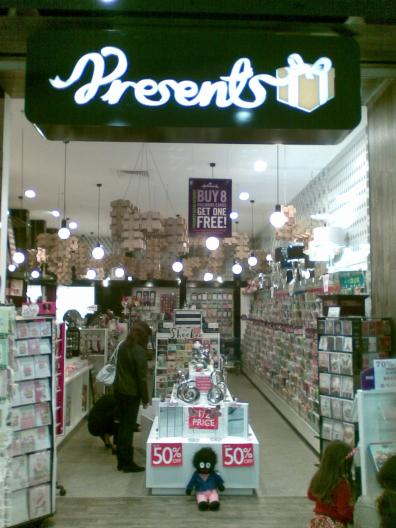 Presents, Southland - Storefront